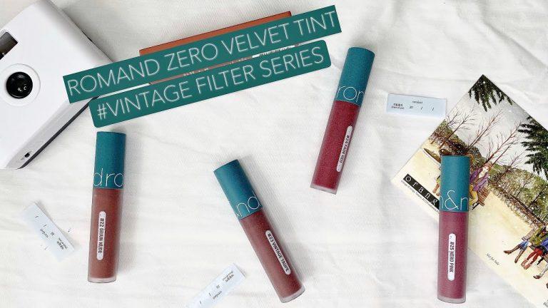Romand Zero Velvet Tint Vintage Filter